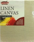 Loxley Linen Natural Standard Edge Canvas With Clear Gesso