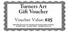 Turners Art Gift Voucher