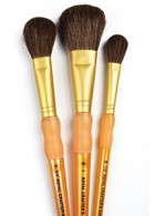 Crafters Choice Camel Hair Mop Brush Set