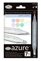 Royal Langnickel Azure Markers Pastel Colours Set