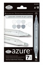 Royal Langnickel Azure Markers Greyscale Colour Set