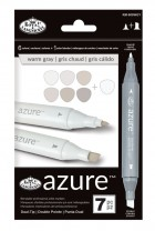 Royal Langnickel Azure Markers Warm Grey Colour Set