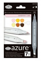 Royal Langnickel Azure Markers Complexion Colour Set