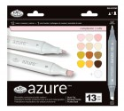 Royal Langnickel Azure Markers Complexion Colours Set