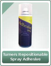 Turners Repositionable Spray Adhesive 400ml