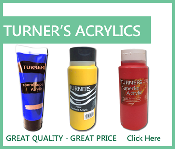 Turners Acrylic Paints